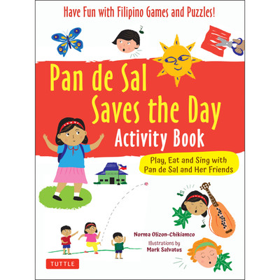 Pan de Sal Saves the Day Activity Book
