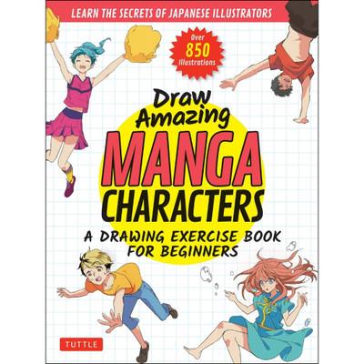 Draw Amazing Manga Characters