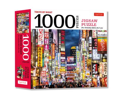 Tokyo by Night - 1000 Piece Jigsaw Puzzle