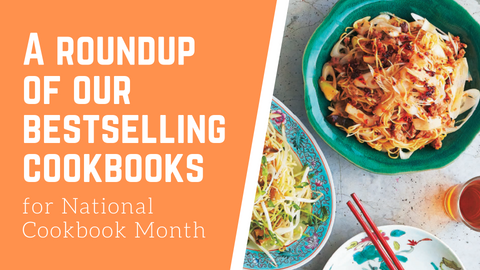 A Roundup of Our Bestselling Cookbooks