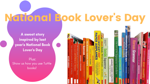 A National Book Lover's Day Tuttle Story