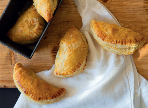 Curried Vegetable Turnover Recipe