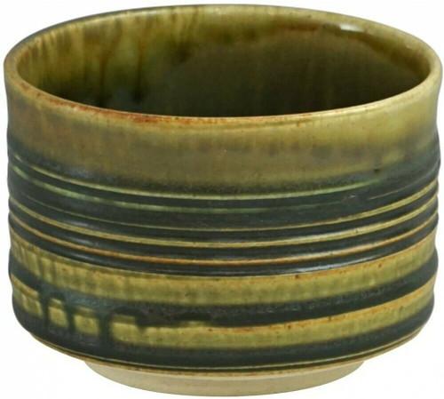 Matcha Chawan Japanese green Tea Bowl Mino yaki ware Kiln Chenge Oribe Japan