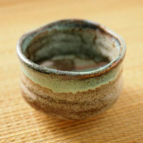 Matcha Chawan Japanese green Tea Bowl Mino yaki ware Marusei Made in Japan