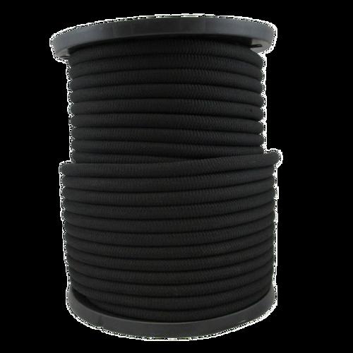 """5/8"""" Bungee Shock Cord Polypropylene Black"""