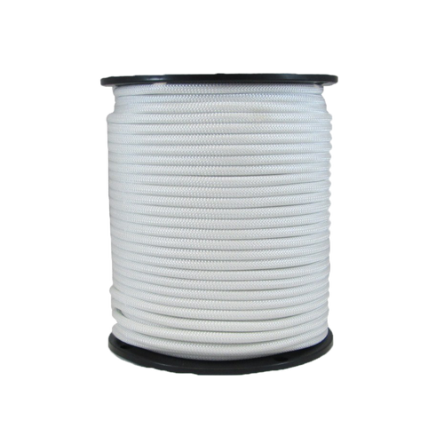 "5/16"" Bungee Shock Cord Polyester White"