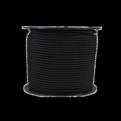 """1/4"""" Bungee Shock Cord Polypropylene Black"""