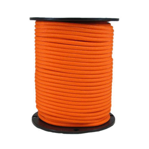"1/4"" Bungee Shock Cord Polyester Neon Orange"