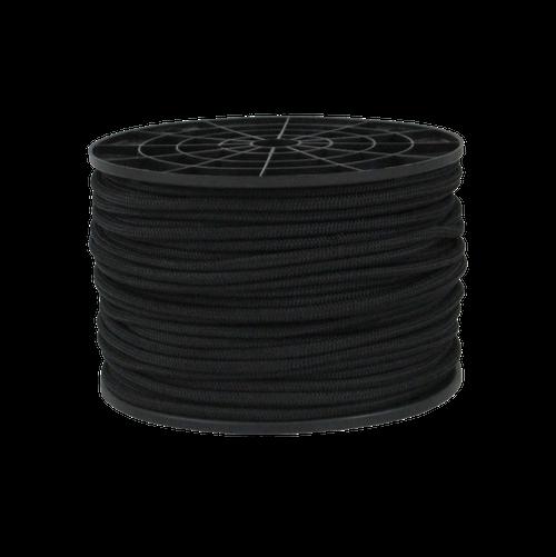 """3/16"""" Bungee Shock Cord Polypropylene Black"""