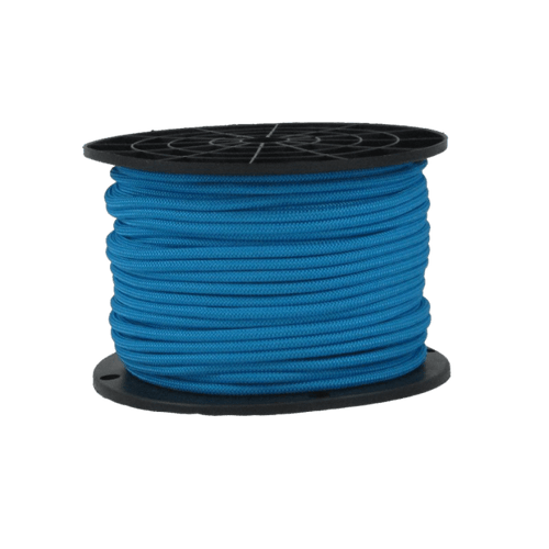 "3/16"" Bungee Shock Cord Polyester Blue"