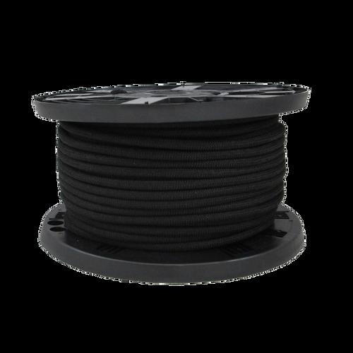 """1/8"""" Bungee Shock Cord Polypropylene Black"""