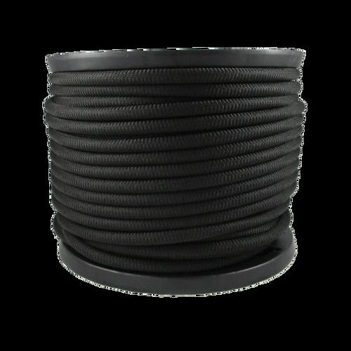 3/8″ Dacron Polyester Rope Black