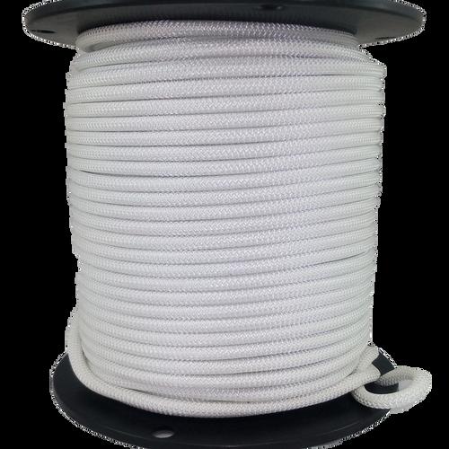 3/8″ Dacron Polyester Rope White