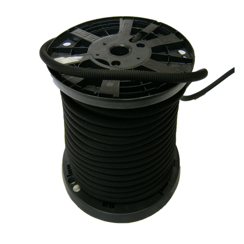 1/4″ Dacron Polyester Rope Black