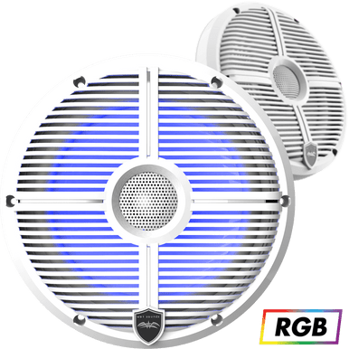 """REVO 8 XW-W   Wet Sounds High Output Component Style 8"""" Marine Coaxial Speakers"""