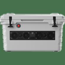 SHIVR-55-GRY   Wet Sounds Battleship Gray Bluetooth Soundbar Cooler