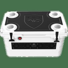 SHIVR 55 GS Top Kit Black over Grey | Gator Step Foam-Traction Kit (Cooler Sold Separately)