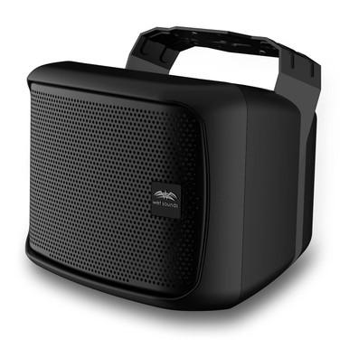 "Wet Sounds | Venue Series 6x9"" Black HLCD Outdoor Speaker"