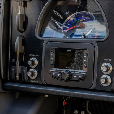 WS-MC-20 | Wet Sounds Compact 2-Zone Media Receiver Source Unit with SiriusXM-Ready® and NMEA 2000 Connectivity