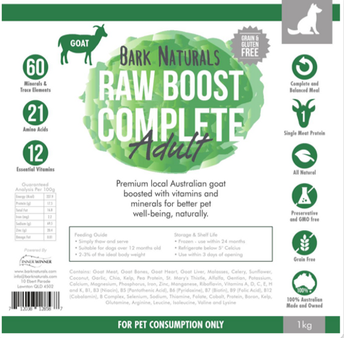 Raw Boost Goat Adult