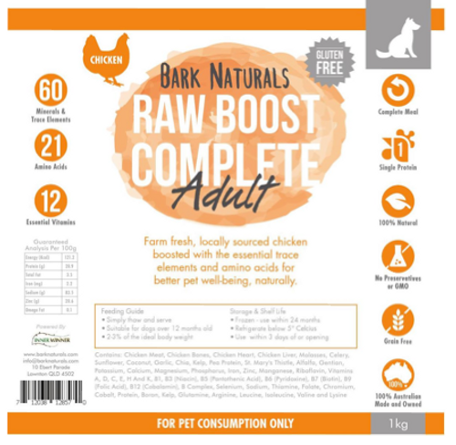 Raw Boost Chicken Adult