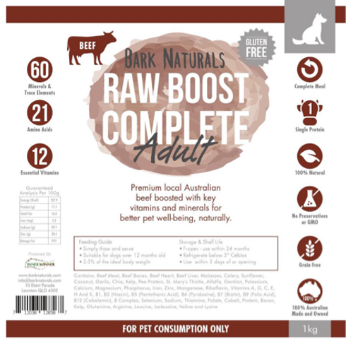 Raw Boost Beef Adult
