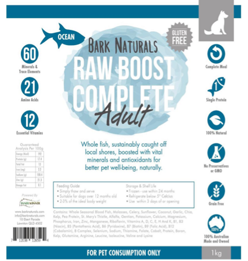 Raw Boost Fish Adult