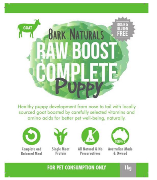 Raw Boost Goat Puppy