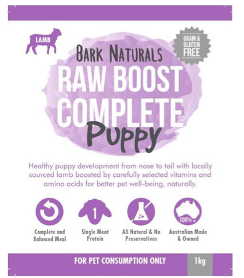 Raw Boost - Complete Mix Lamb Puppy