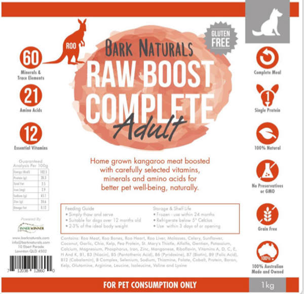 Raw Boost Roo Adult