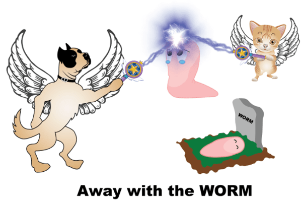Away with the Worm