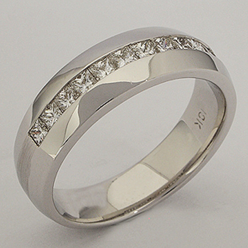 Men's Diamond Wedding Band diawb204
