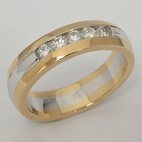 Men's Diamond Wedding Band diawb179