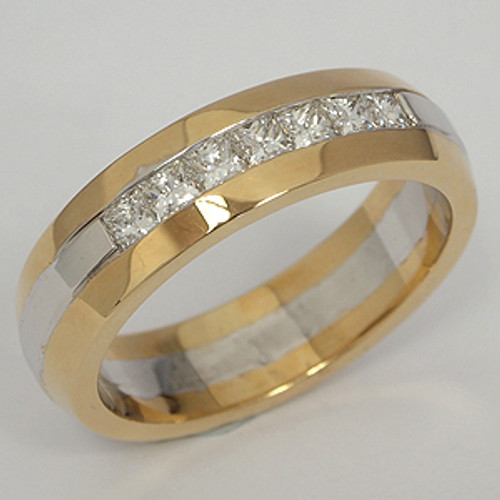 Men's Diamond Wedding Band diawb181