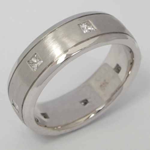 Men's Diamond Wedding Band diawb147