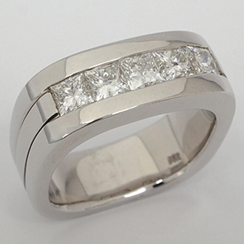 Men's Diamond Wedding Band diawb137