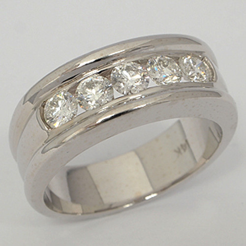Men's Diamond Wedding Band diawb135