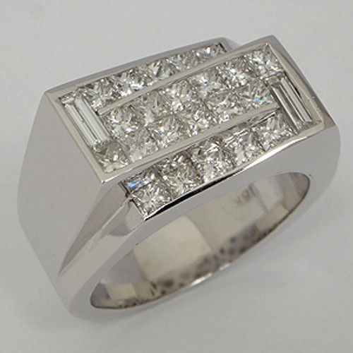 Men's Diamond Wedding Band diawb124