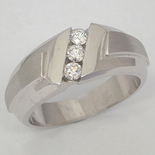 Men's Diamond Wedding Band diawb118