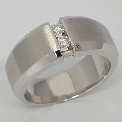 Men's Diamond Wedding Band diawb111