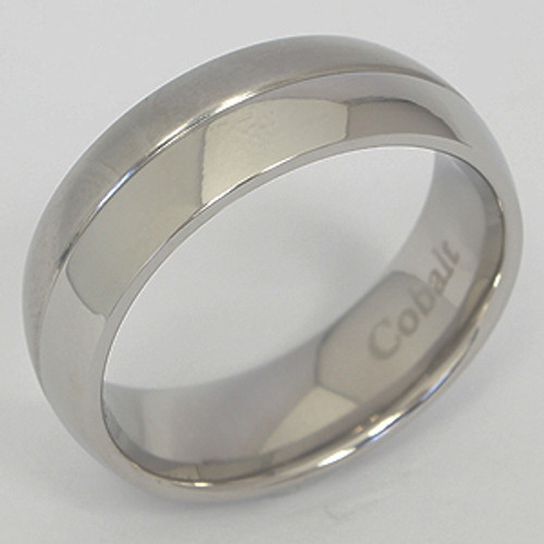 Cobalt Wedding Band cobwb166