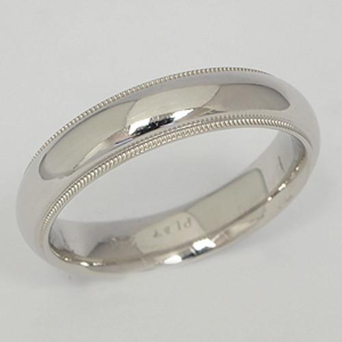 Platinum Wedding Band ptwb143