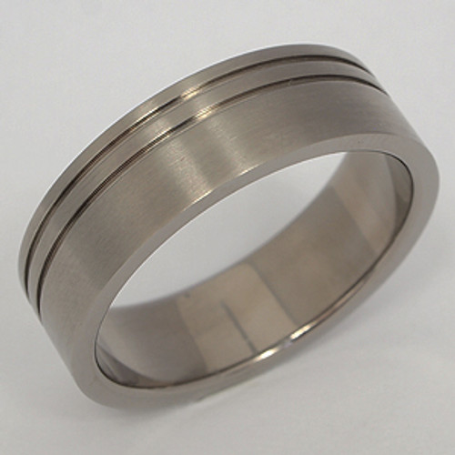Titanium Wedding Band tita109