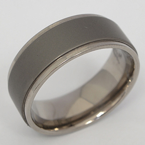 Titanium Wedding Band tita106