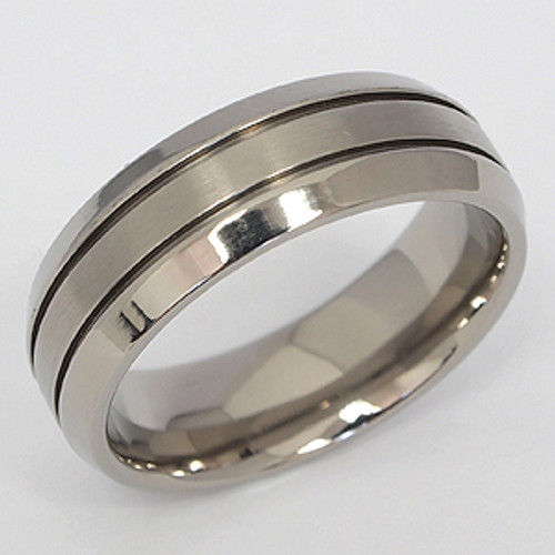 Titanium Wedding Band tita104