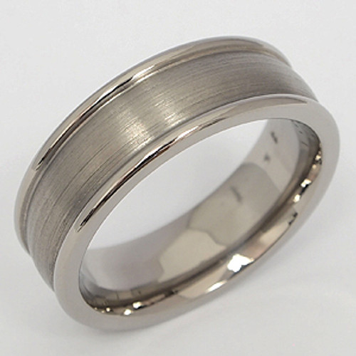 Titanium Wedding Band tita103