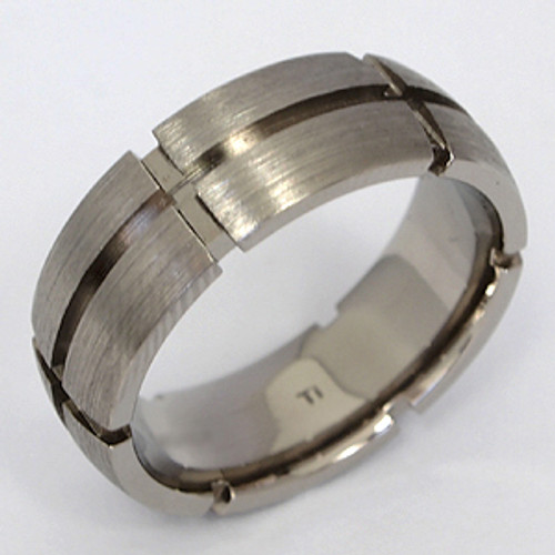 Titanium Wedding Band tita102