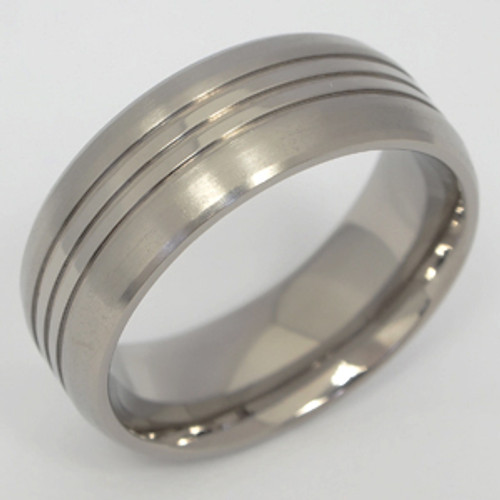 Titanium Wedding Band tita101