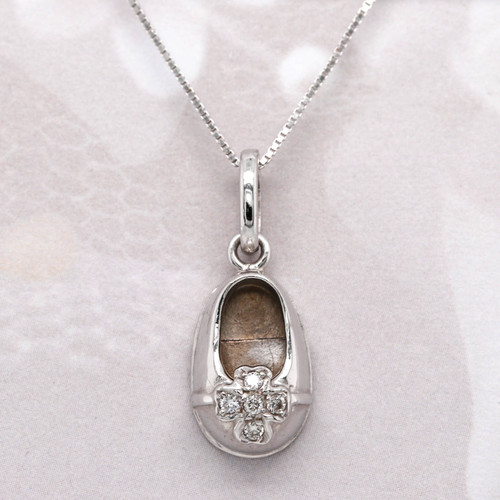 Diamond Bootie Pendant