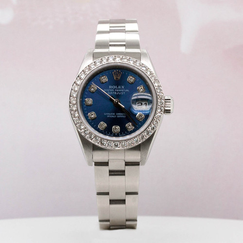 Rolex stainless steel watch